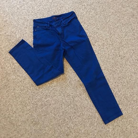 NYDJ Denim - Royal blue jeans